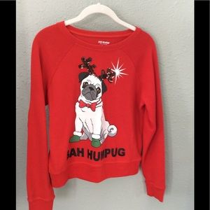 Joe Boxer Bah Humpug Christmas Sweater